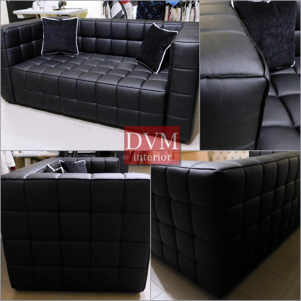Divan chernyiy iz kozhzama 1024x1024 - Фото мягкой мебели