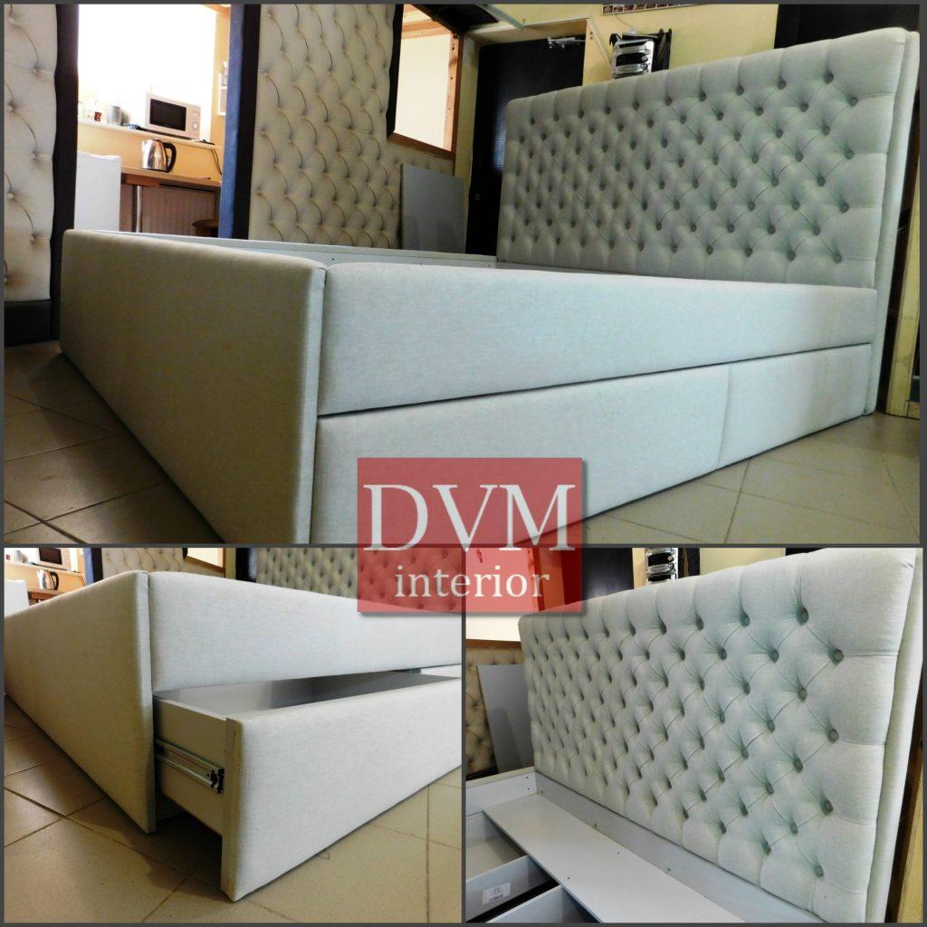 Krovat s yashhikami na zakaz 1024x1024 - Изготовление кроватей на заказ