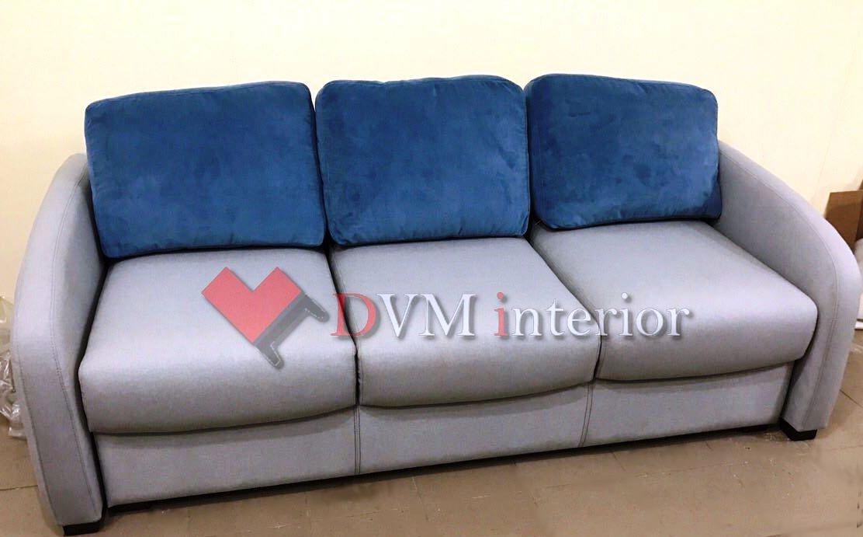 divan seryiy myagkiy - диван серый мягкий